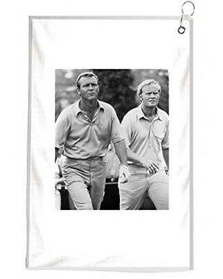 Jack Nicklaus And Arnold PALMER Us Open Novelty Golf Towel Golfers Accessories