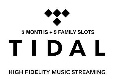 TIDAL 3 Months Premium Hifi + Family (6 Users) | READ DESCRIPTION | WORLDWIDE
