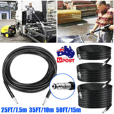 3Types High Pressure Hose Washer Tube 1/4'' 3000PSI Quick Connect for Karcher
