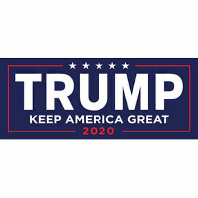 10x Donald Trump For President 2020 Bumper Sticker Keep Make America Great Decal