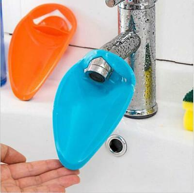 Good Faucet Extender For Helps Children Kid Hand Washing in Bathroom Sink Plain