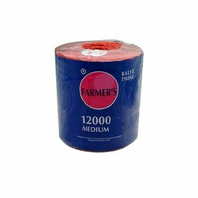 Farmers Polypropylene Baler Twine 1830 Meters/6000 Feet - Best Value & quality