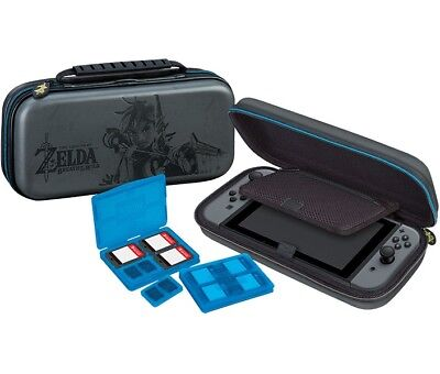 Nintendo SWITCH Zelda Travel Case NNS44 Link Tasche Schutz Hülle Game Traveler