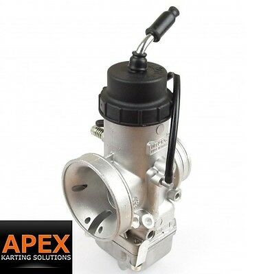 Rotax FR125 Dellorto Carb Service - Sonic Clean and Seal Replacement EVO KARTING
