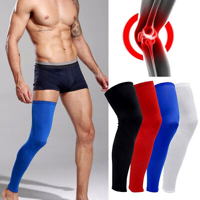 Compression Socks Knee Calf Support Stockings Leg Thigh Long Sleeves Men Women