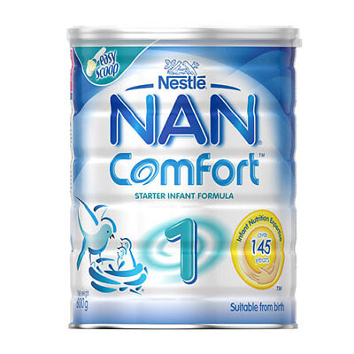 NEW Nestle Nan Comfort Step 1 Suitable from Birth - 800g