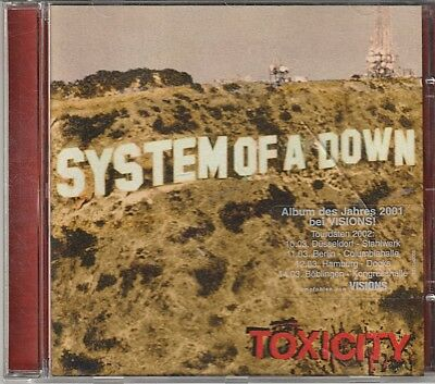 System Of A Down // Toxicity - Album - CD - gebraucht -