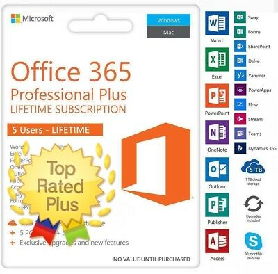 OFFICE 365 Microsoft Office 2016 5 Devices for