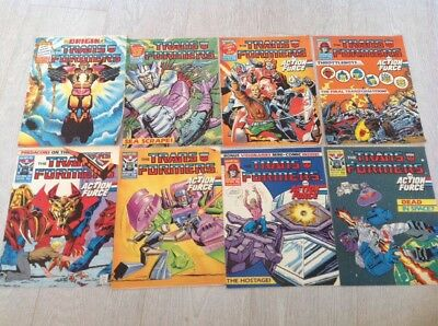 Transformers Comics Job Lot 1988 Issues 150-159 Marvel