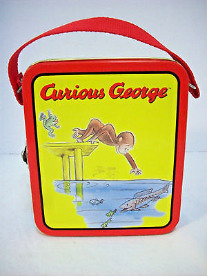 Curious George 1999 tin tote/lunchbox
