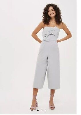 9b77b2cea02 TOPSHOP OFF THE Shoulder Jumpsuit By Boutique Size 12 40 US 8 RRP ...