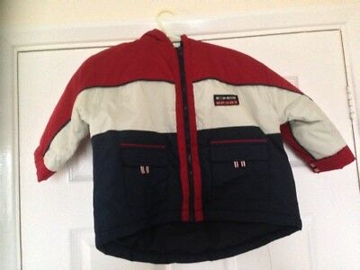 Brand New 'DB Sport' Baby Boy Hooded Jacket (Size 12/18 months)