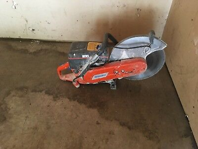 """Husqvarna K760 14"""" Handheld Gas Power Cutter Concrete Cut Off Saw with Blade"""