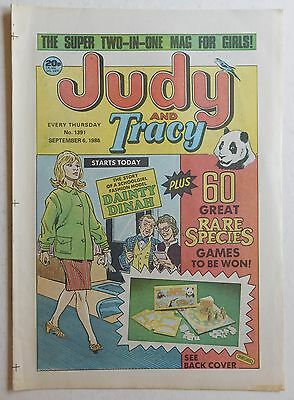 JUDY & TRACY Comic #1391 - 6th September 1986