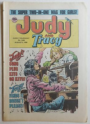 JUDY & TRACY Comic #1386 - 2nd August 1986