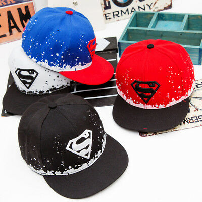 premium selection 327b4 da59f Flat Snapback Cap Dad Hat 2017 High Quality Casual Embroidery Superman Hats  For