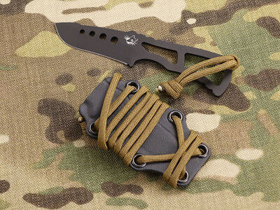 Southern Grind Knives - Small Vermin w/Kydex Black Drop Point SG04030100 Knife