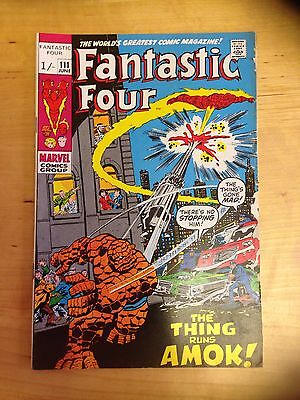 Marvel Comics. Fantastic Four Issue 111