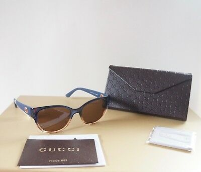 256baae885 NWT GUCCI 40MM Women s Butterfly Sunglasses -  119.99
