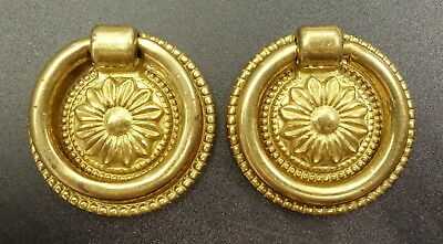 Pair Of Buttons, Louis Xvi Style - French Antique