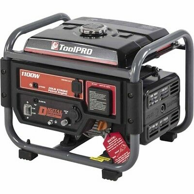 ToolPro Digital Inverter Generator - Open Frame, 1100W