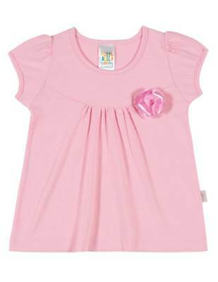 08a9331ed BABY GIRL SHIRT Infant Solid Ruffled Top Pulla Bulla Sizes 3-12 ...