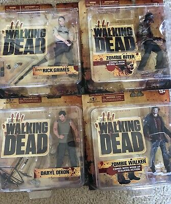 McFarlane Toys The Walking Dead Series 1 Set Action Figures Daryl Rick