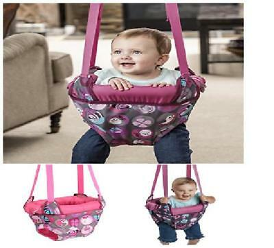 2195d07c0a36 EVENFLO EXERSAUCER DOOR Jumper Pink Bumbly New Free Shipping ...