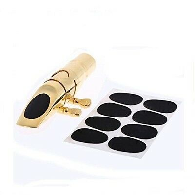 8pcs 0.8mm Soprano Saxophone Clarinet Mouthpiece Patches Pads Cushions. Yongse