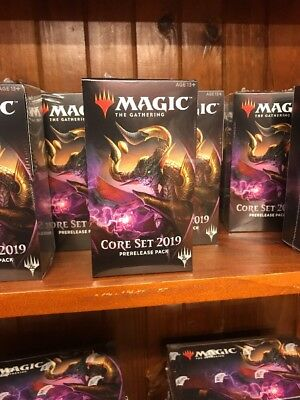 M19 Coreset Prerelease Pack - Shipping 13/7/18 - Sealed