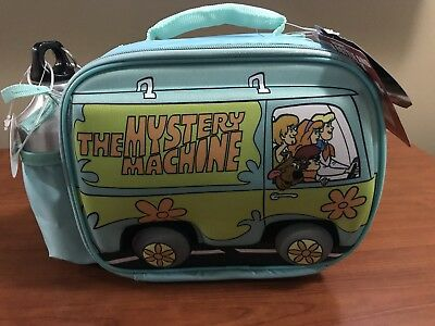 Scooby-Doo Mystery Machine lunchbox With Water Bottle And Snack Pack NWT