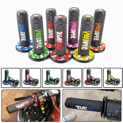 "7/8""Hand Grips Handle Bar Throttle Grips Pocket Mini ATV Dirt Pit Bike Motocross"