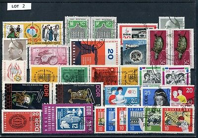 DDR Lot gestempelte Briefmarken laut SCAN (Lot 2)