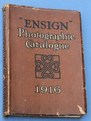 Superb ENSIGN Photographic Catalogue 1916 – 272 Pages!