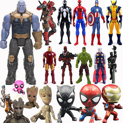 X-men Deadpool Spiderman Marvel Avengers Infinity War Thanos Action Figure Toys