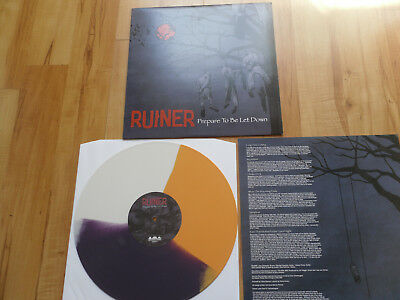 "RUINER ""Prepare to be let down"" LPcol SxE Have Heart Bridge Nine Records"