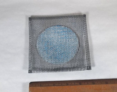 """New Wire Gauze 5"""" Square For Bunsen Burner Applications w Ceramic Pad"""