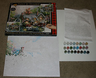 """Paint By Number Kit 16"""" X 20""""- Cottage Mill by Plaid"""
