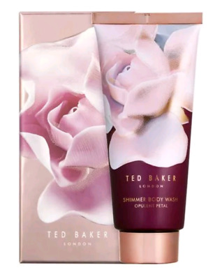 TED BAKER LONDON 'SPARKLING BLOOM' SHIMMERING BODY WASH 200ml IN GIFT BOX NEW