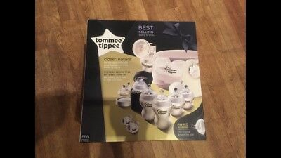 Tommee Tippee Closer to Nature Microwave Steam Steriliser / brush & more Kits BN