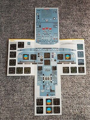 Airbus A320 Cockpit Poster Panels Typerating Training ATPL