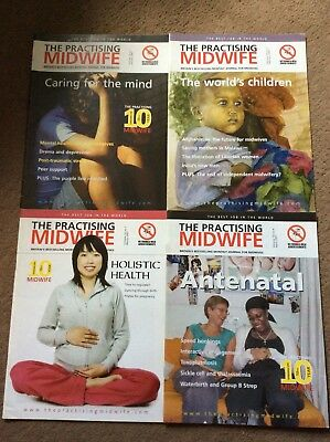 'The Practising Midwife' Magazines, Midwifery,  Student Midwife. FREE DELIVERY