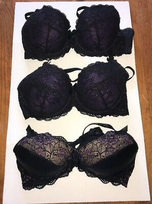 0229db38ede SET OF 3 Von Follies Maternity Dita Von Teese Nursing Bra 1 Size 34C ...