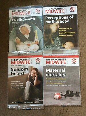 'The Practising Midwife', Magazines. Midwife. Student Midwife. FREE DELIVERY.