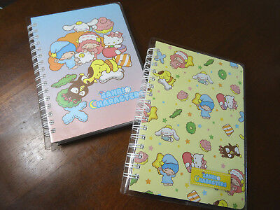 NEW Sanrio Characters Notebook Notepad Bundle Hardcover Spiral San-X Hello Kitty