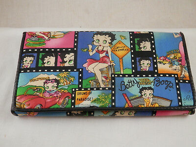 Betty Boop tri-fold wallet organizer 2008 King Features Syndicate