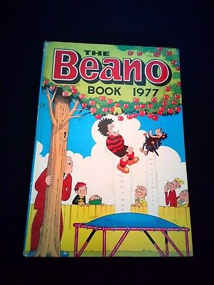 The Beano Book 1977 Vintage U.K Comic Annual Hardback