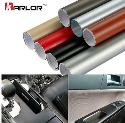 PVC Leather Vinyl Film Sticker Car Furniture DIY Decal Self-Adhesive Bubble Free