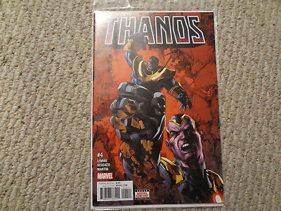Thanos #4 1St Print Sold Out Htf Hot Series