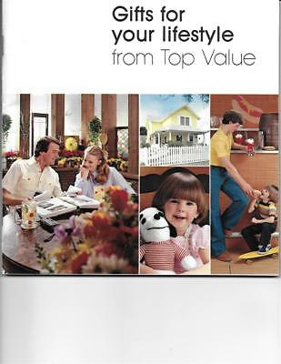 Vintage 1979 TOP VALUE STAMPS FAMILY GIFT CATALOG 168 Pages ~ GREAT CONDITION!